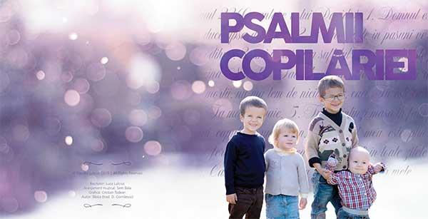 Luca Lulciuc-Psalmii-Copilariei---Front-Cover